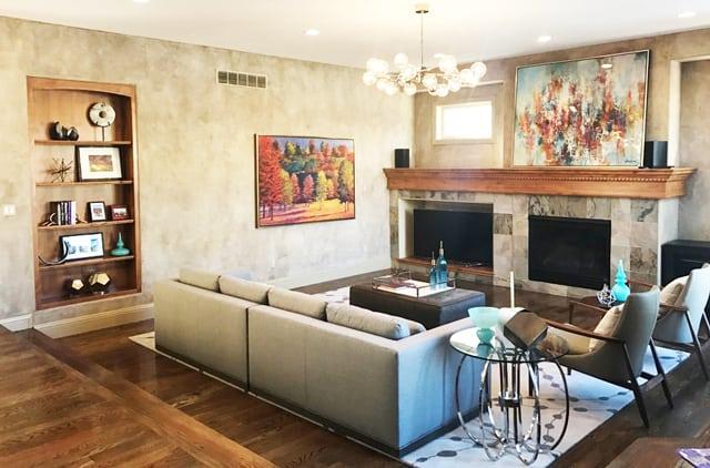 Lowry Living Room Interior Design 1