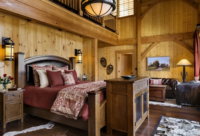 New Hampshire Bedroom Interior