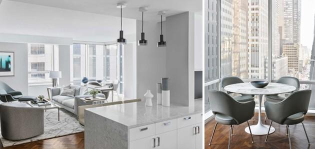 Darci Hether Light Hued Luxury Apartment Interiors