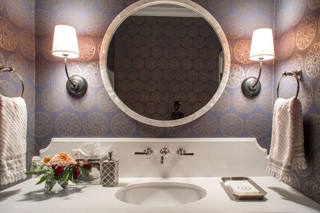 Peltier Interiors San Marino Bathroom Sink Design
