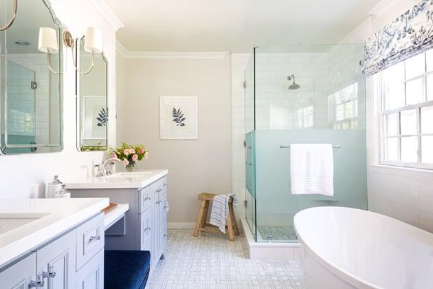 Peltire Interiors Master Bathroom Interior Design