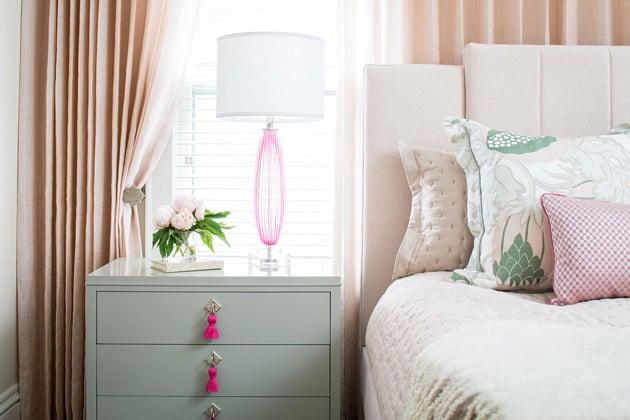 Custom Designed Blush Bedroom Interiors