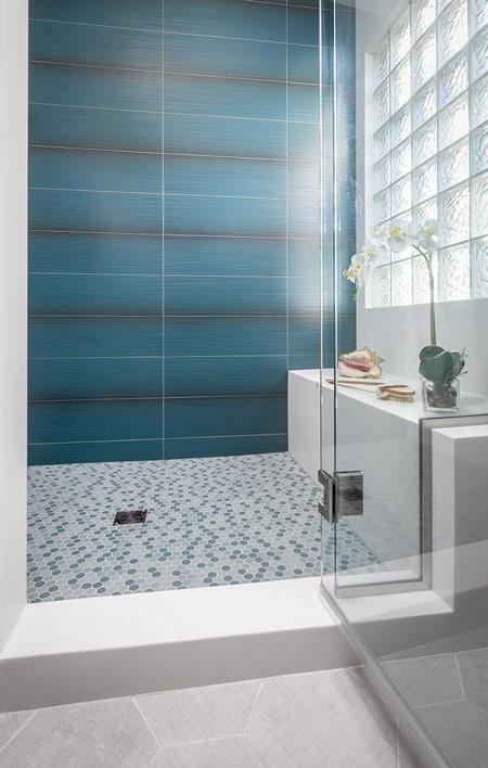Custom Designed Classic Master Bath Shower