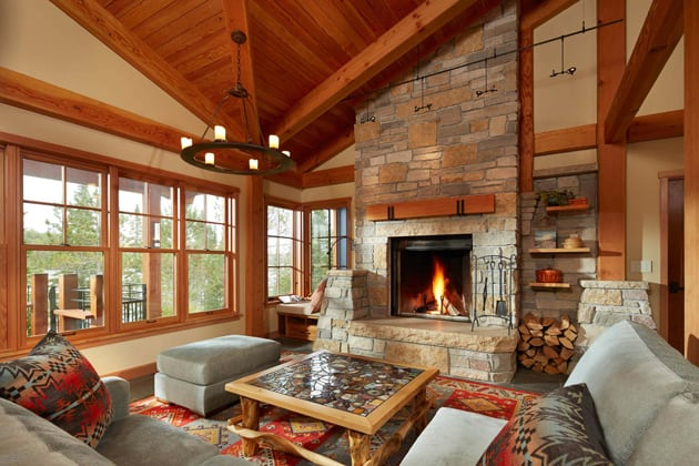Legacy Water Front Custom Home Interiors