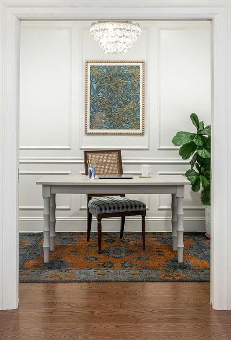Luxury Home Office Edina Mn Interior Designer