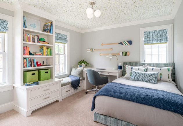 Modern Boys Bedroom Interior Design Edina Mn