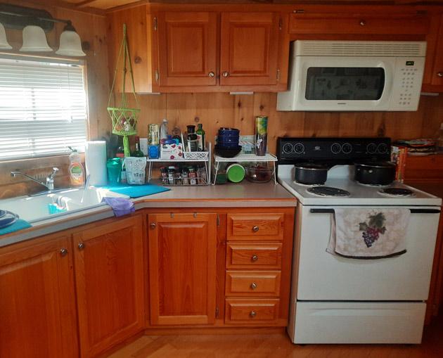 Tiny Home Kitchen Interior Design