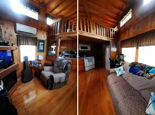 Tiny Home Living Room Interior Design