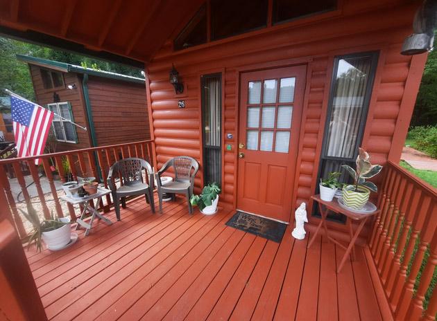 Tiny Home Porch Design
